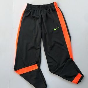 Nike Athletic Pants Basketball neon size L Boys